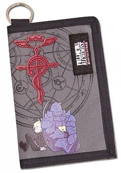 FullMetal Alchemist Brotherhood Wallet - Ed & Al Sitting ...