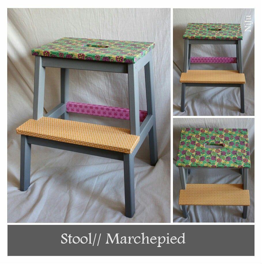 Stool // Marchepied www.julianieto.com