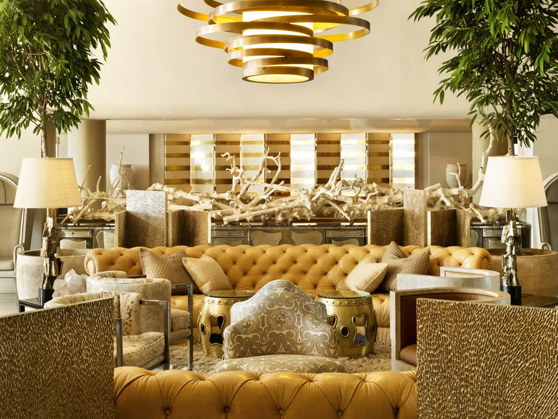 Luxury Hotel Interiors the enchanting world of atmosphere | kelly wearstler, lobbies and