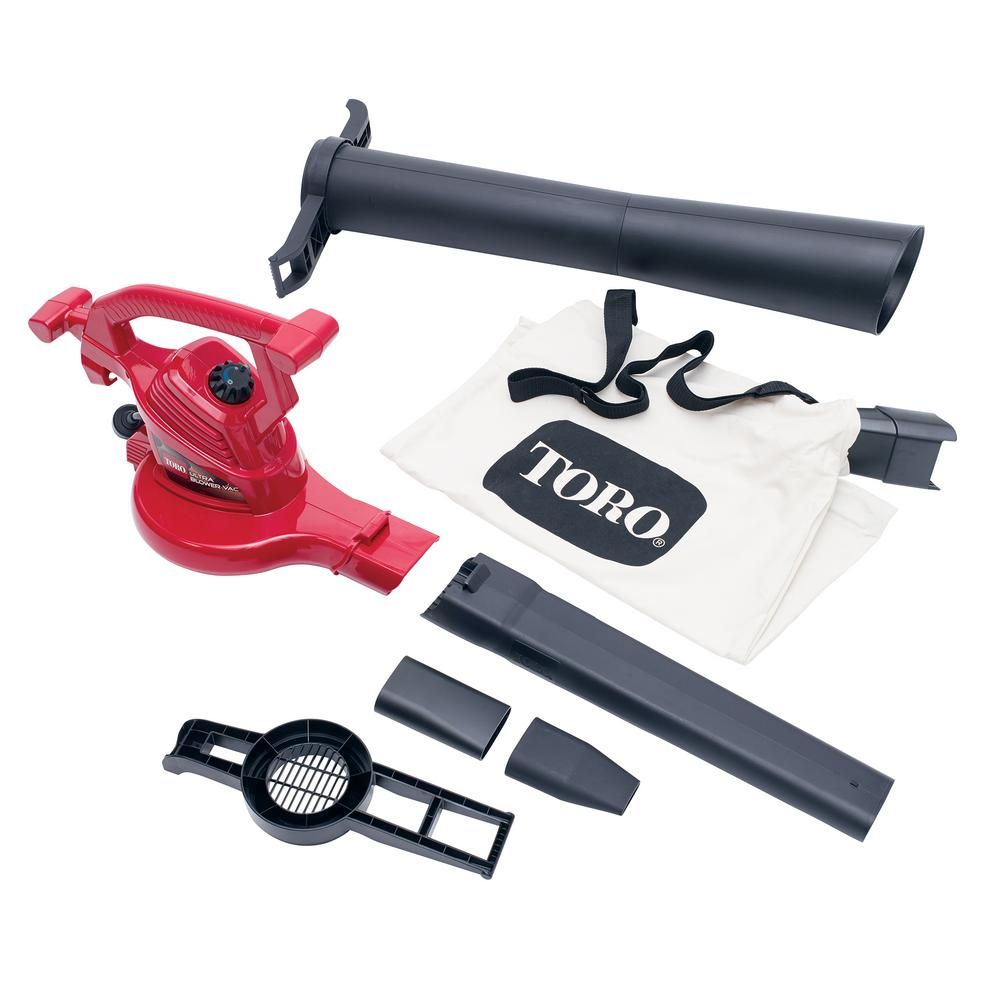 The Toro 51599 Ultra Is One Of The Quietest Blower Vacuum That You Will Find Your Neighbors Will Surely Appreciate T Electric Leaf Blowers Blowers Leaf Blower