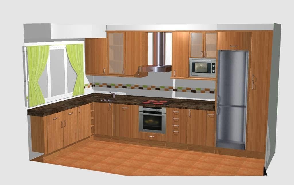 La mejor distribuci n para mi cocina rectangular de 15 40 m2 decorar tu casa es Cocinas rectangulares