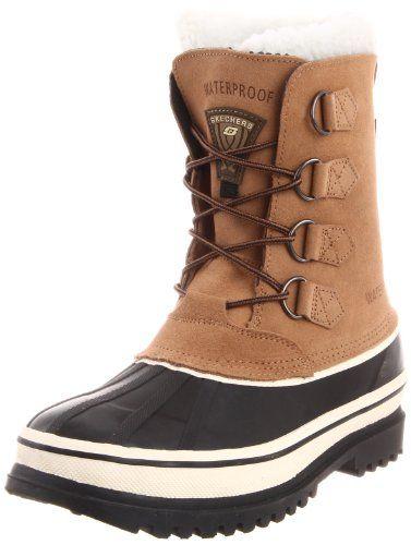 skechers mens winter boots