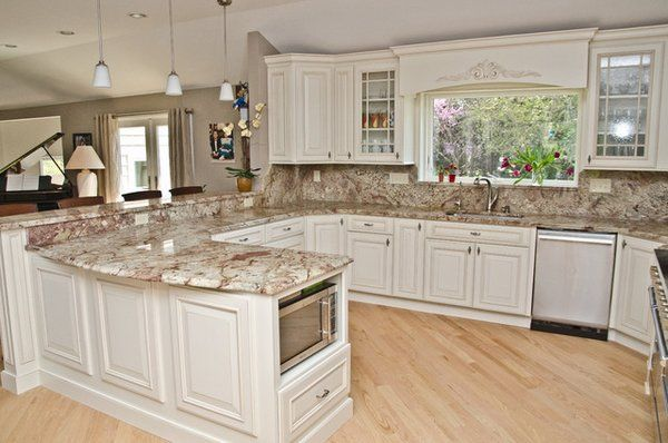 Typhoon Bordeaux Granite Countertops Kitchen Countertop Ideas White Cabinets Replacing Kitchen Countertops Granite Countertops Kitchen Kitchen Remodel
