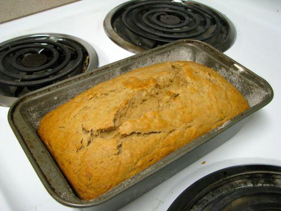 4-H Banana Bread (Uses 2 bananas.) Just made this, delicious!
