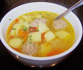 Russische Frikadellen - Suppe von zuckerhasi | Chefkoch