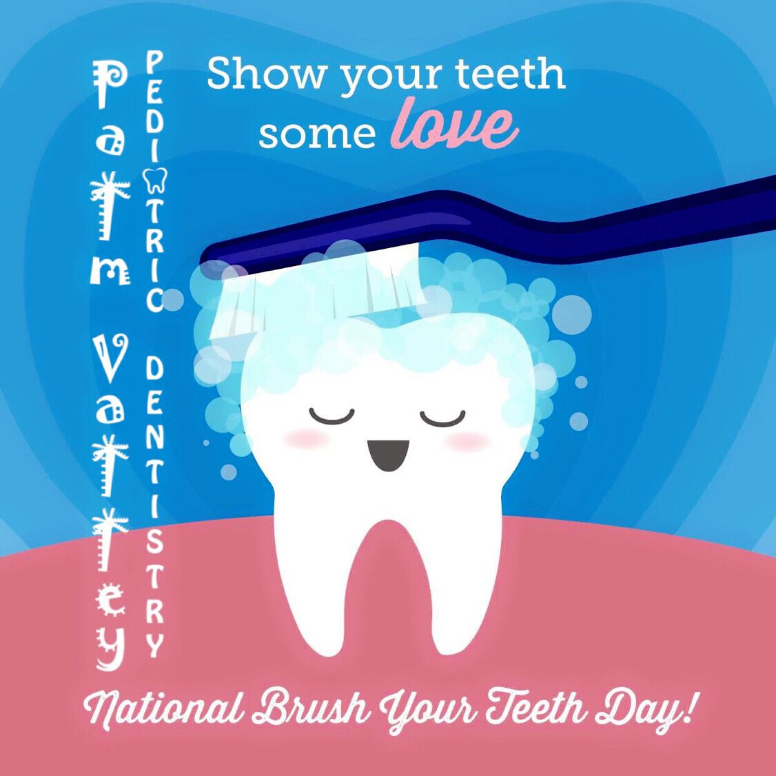 WHEN IS THE MOST important day for brushing your teeth