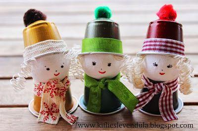 Lavoretti Di Natale Con Cialde Nespresso.Riciclo Creativo Cialde Del Caffe 31 Idee A Cui Ispirarsi