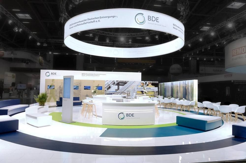 Exhibition Stand Circle : Bde ifat booth design  ces pinterest