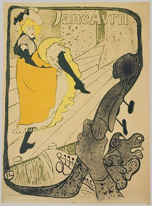 Henri de Toulouse-Lautrec: Jane Avril (32.88.15) | Heilbrunn Timeline of Art History | The Metropolitan Museum of Art