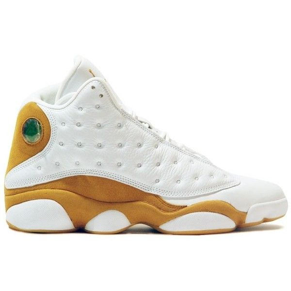 Air Jordan 13 (XIII) Retro-Wheats (White / Wheat) Sneakers