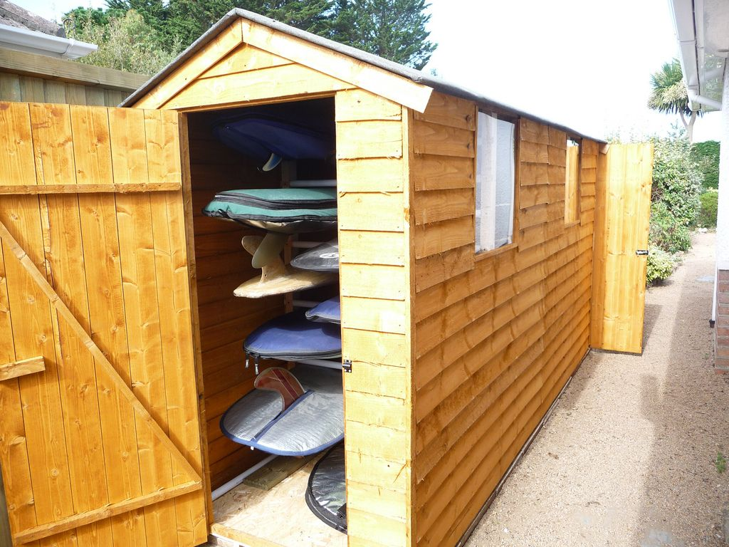 Charmant Surfboard Storage Idea