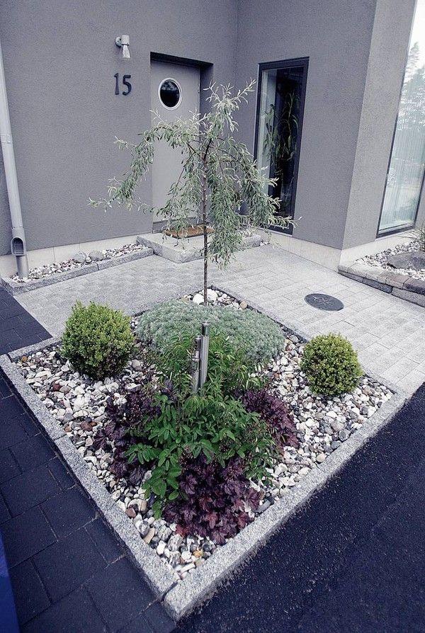 Einfahrt Neu Gestalten | Garten | Pinterest | Gärten, Eingang Und ... Gartengestaltung Ideen Mit Einfahrt
