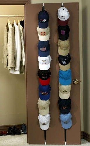 Over The Door Hat Organizers Set Of 2 Diy Hat Rack Cap Rack Rack Ideas