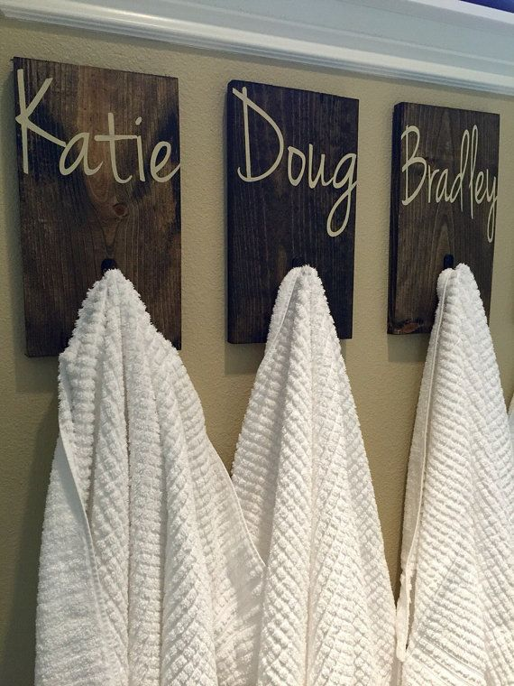 Rustic Hook Coat Hook Towel Hook Back Pack Hooks Kids Name Etsy Personalized Bathroom Towel Hooks Kid Bathroom Decor