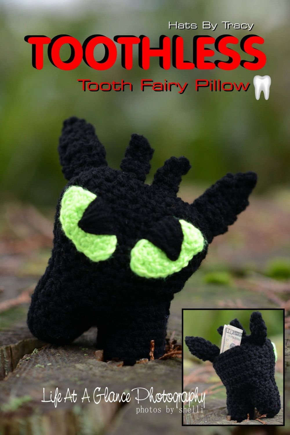 Toothless Tooth Fairy Pillow, Baymax, Minions, Toddler Gifts, Disney ...