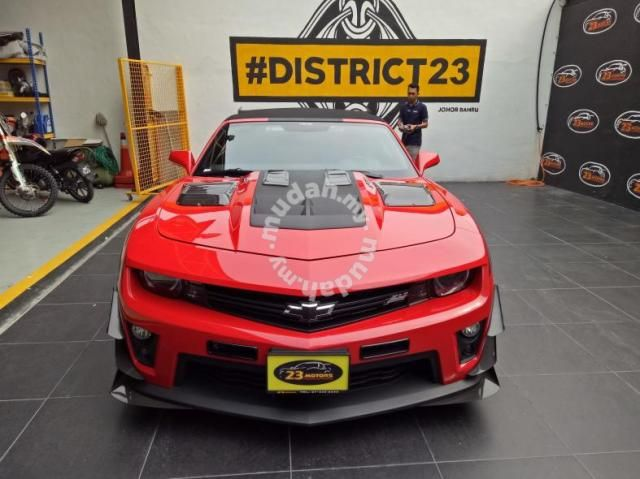 2013 Chevrolet Camaro Zl1 6 2 A Cars For Sale In Johor Bahru