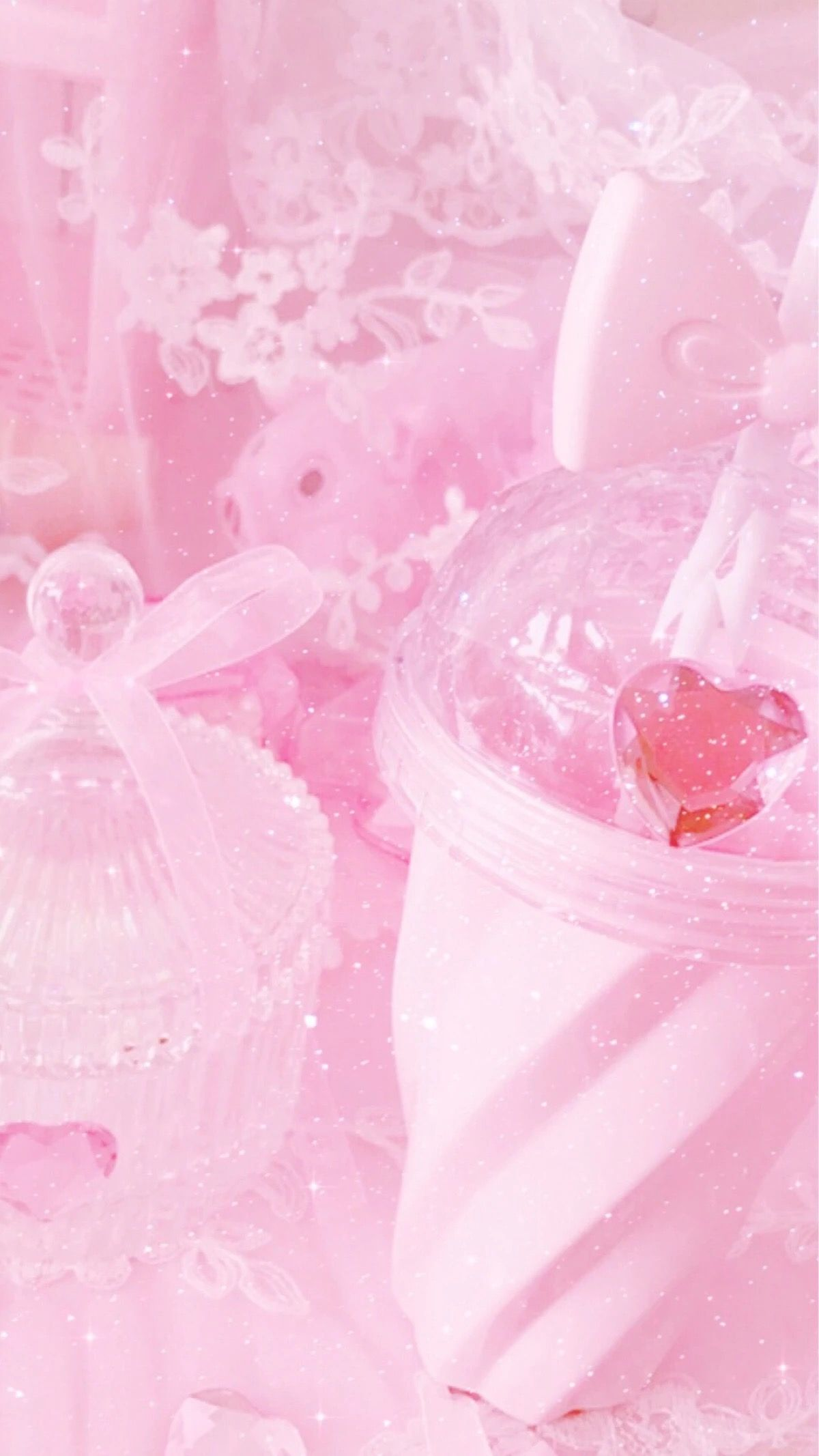 Aesthetic Pastel Pink Background