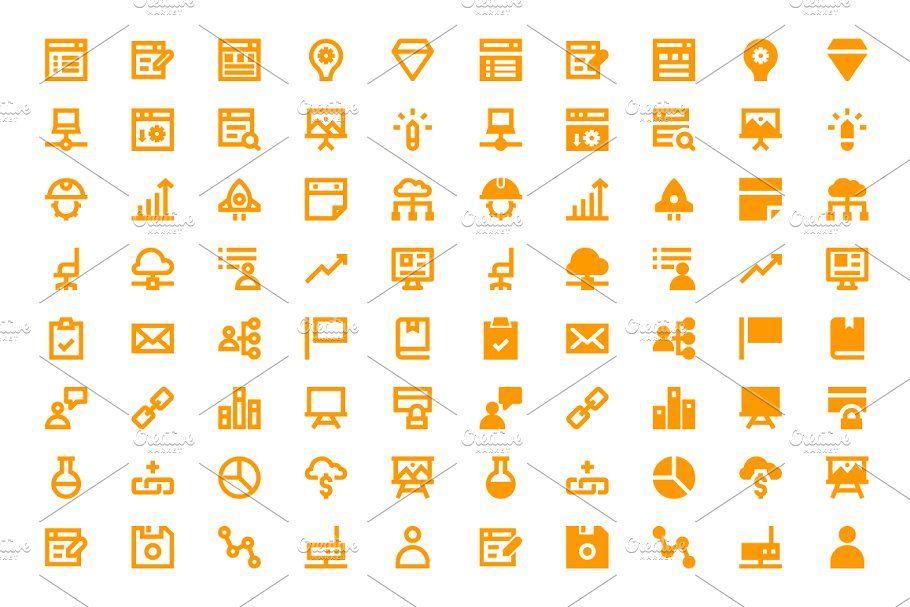 340 Web Design And Development Icons In 2020 Web Design Icon