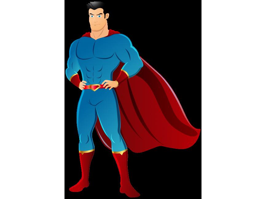 Superman PNG Transparent Image