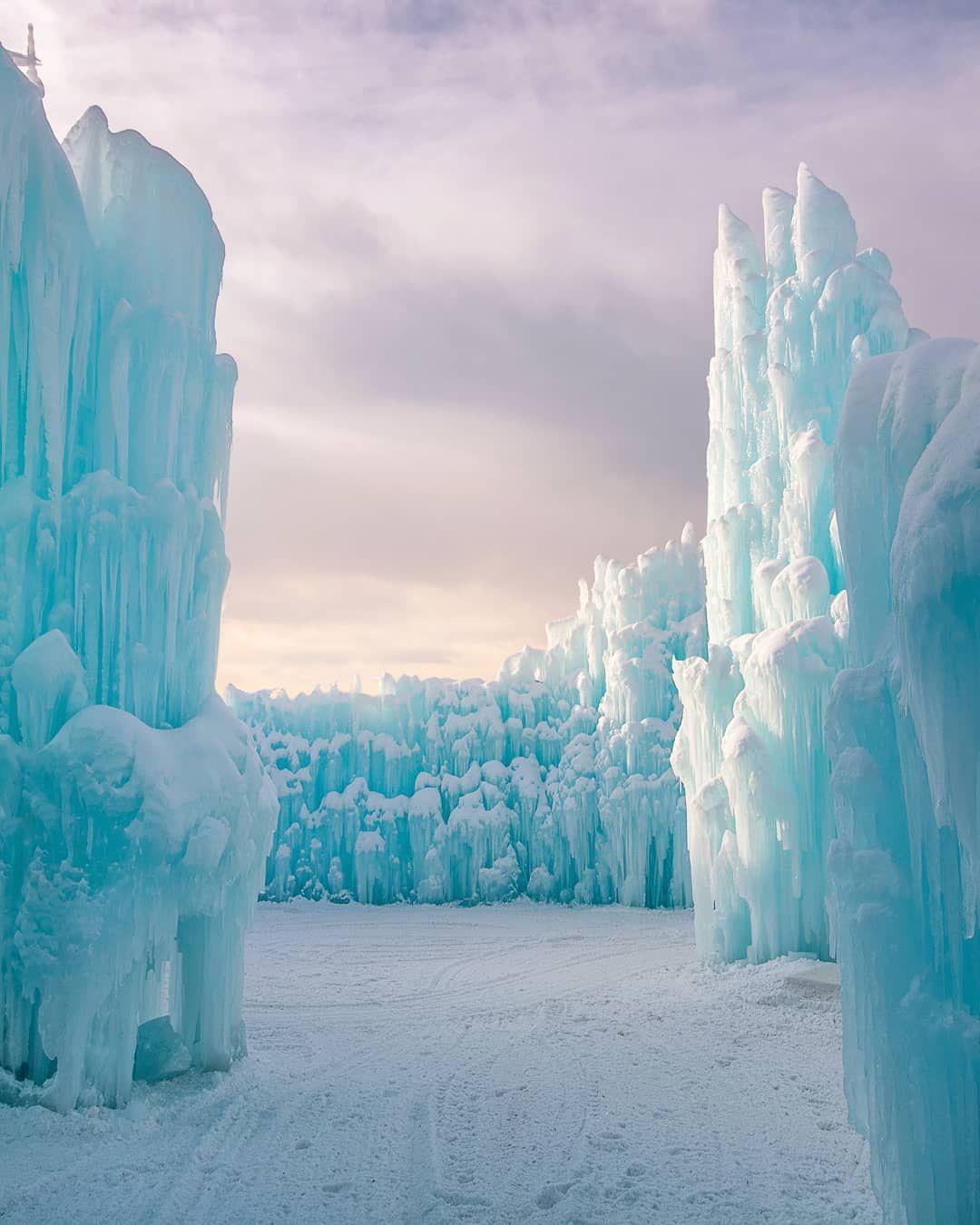 фото ледяных замков дарят хозяевам