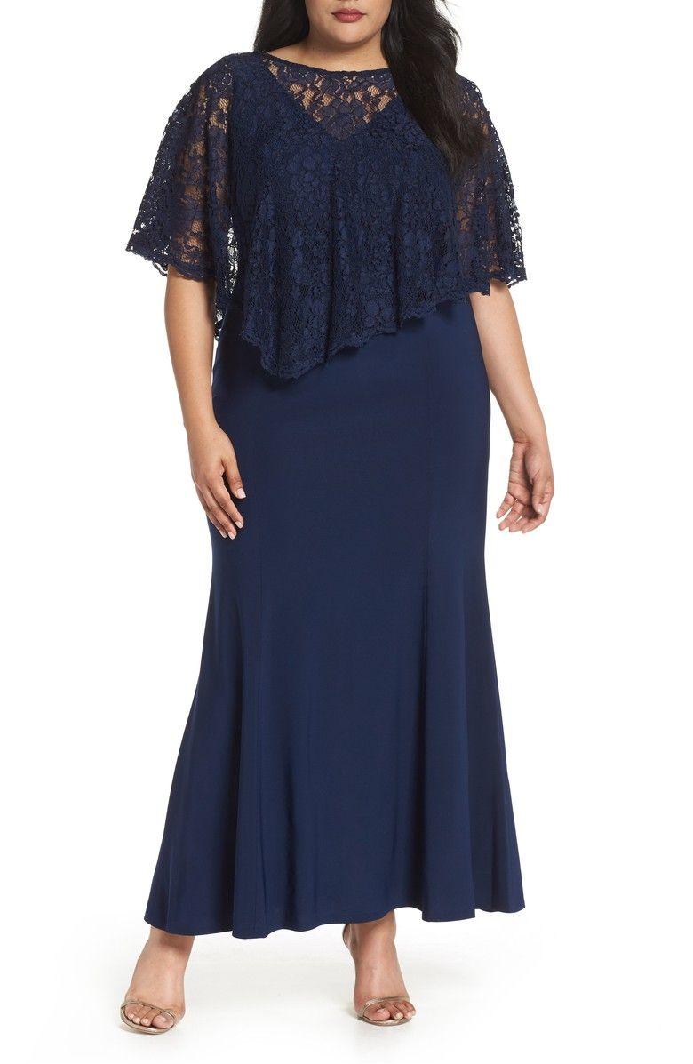Decode 1 8 Lace Poncho Dress Plus Size Nordstrom Lace Poncho Poncho Dress Stylish Formal Dresses [ 1197 x 780 Pixel ]