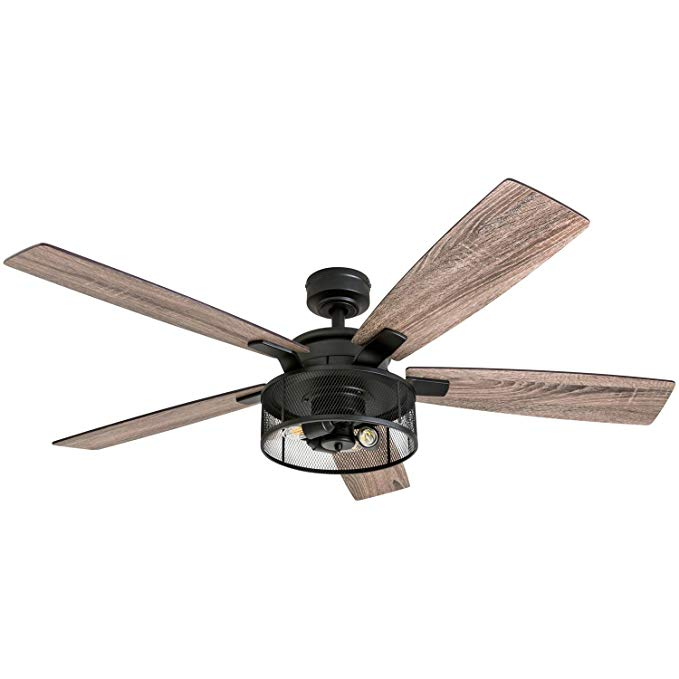 Honeywell Ceiling Fans 50614 01 Carnegie Led Ceiling Fan 52