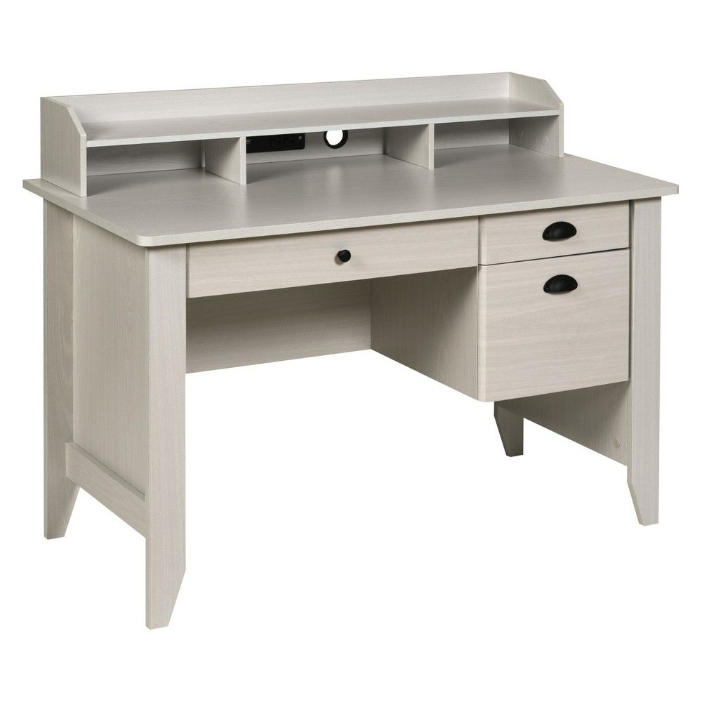 Onespace 50 1617 Executive Desk With Hutch And Usb Charger Hub In 2019 Home Office Furnishings Desk Hutch Office Furniture Home Office Furniture