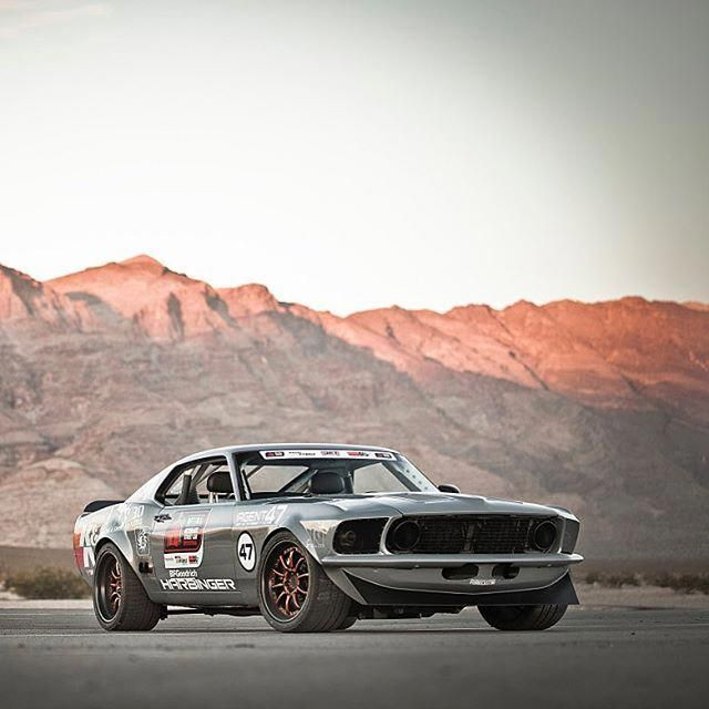 Agent 47 Harbinger Mustang!  