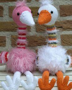 Struisvogel Puk (kooppatroon van Stip & HAAK)