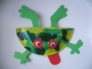 grenouille brico animaux activit manuelle enfant activit manuelle 3 ans et bricolage enfant. Black Bedroom Furniture Sets. Home Design Ideas