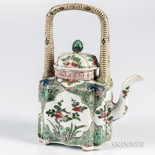 Famille Verte Teapot Tea Pots Tea Pots Vintage Teapots Unique