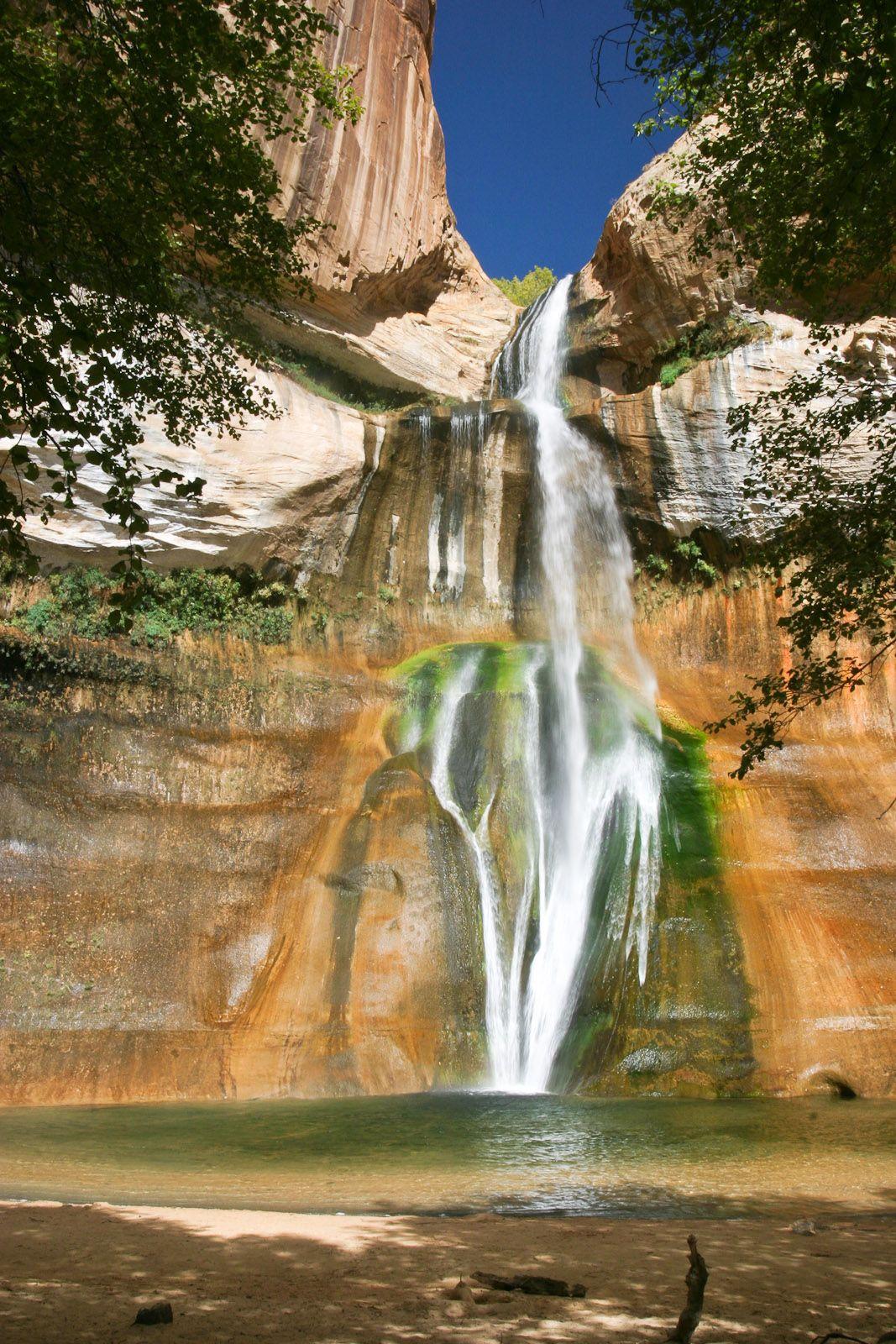 Lower_calf_creek_falls_utah lower calf creek falls