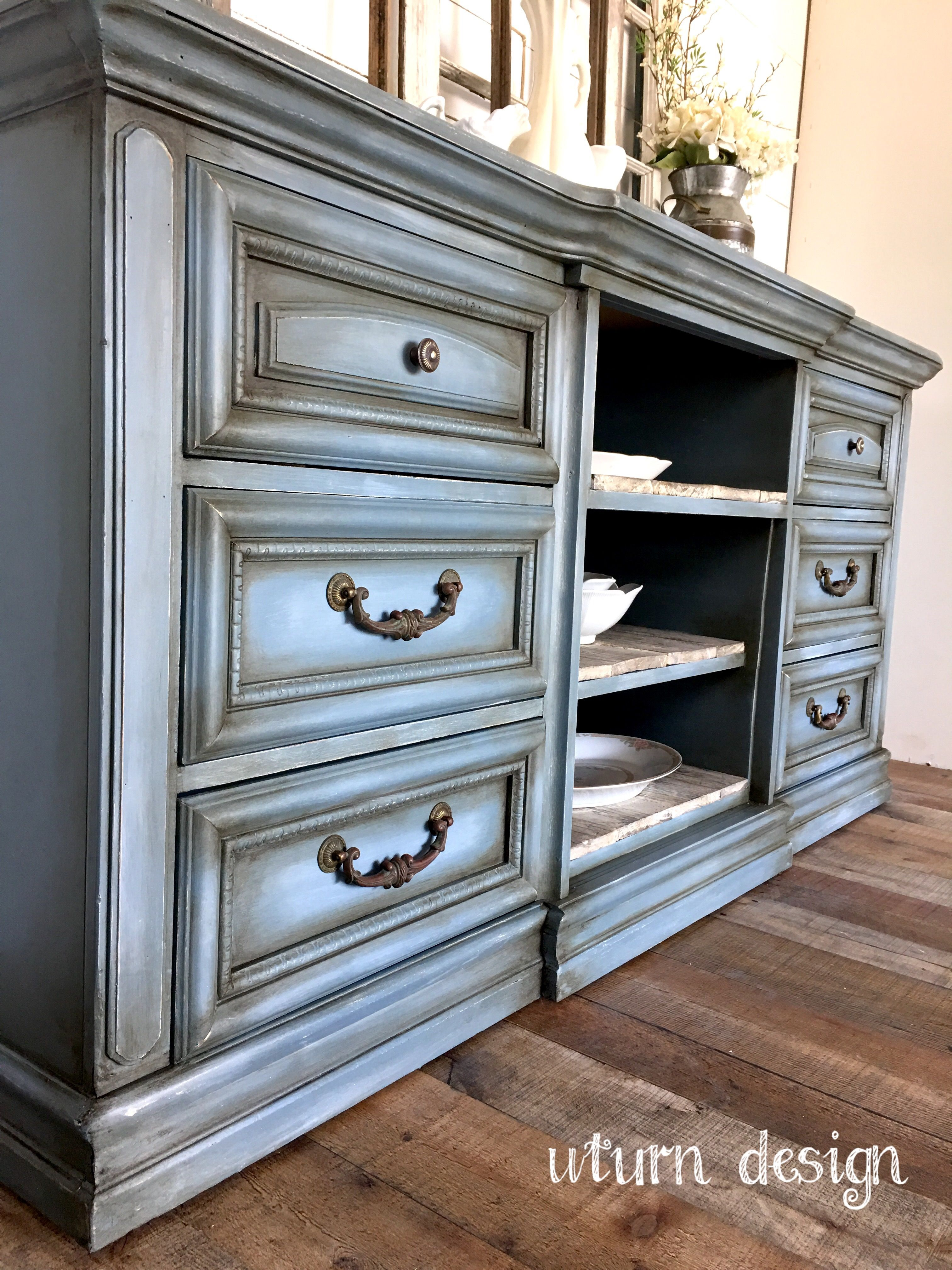 French Country Paint Technique By Uturn Design