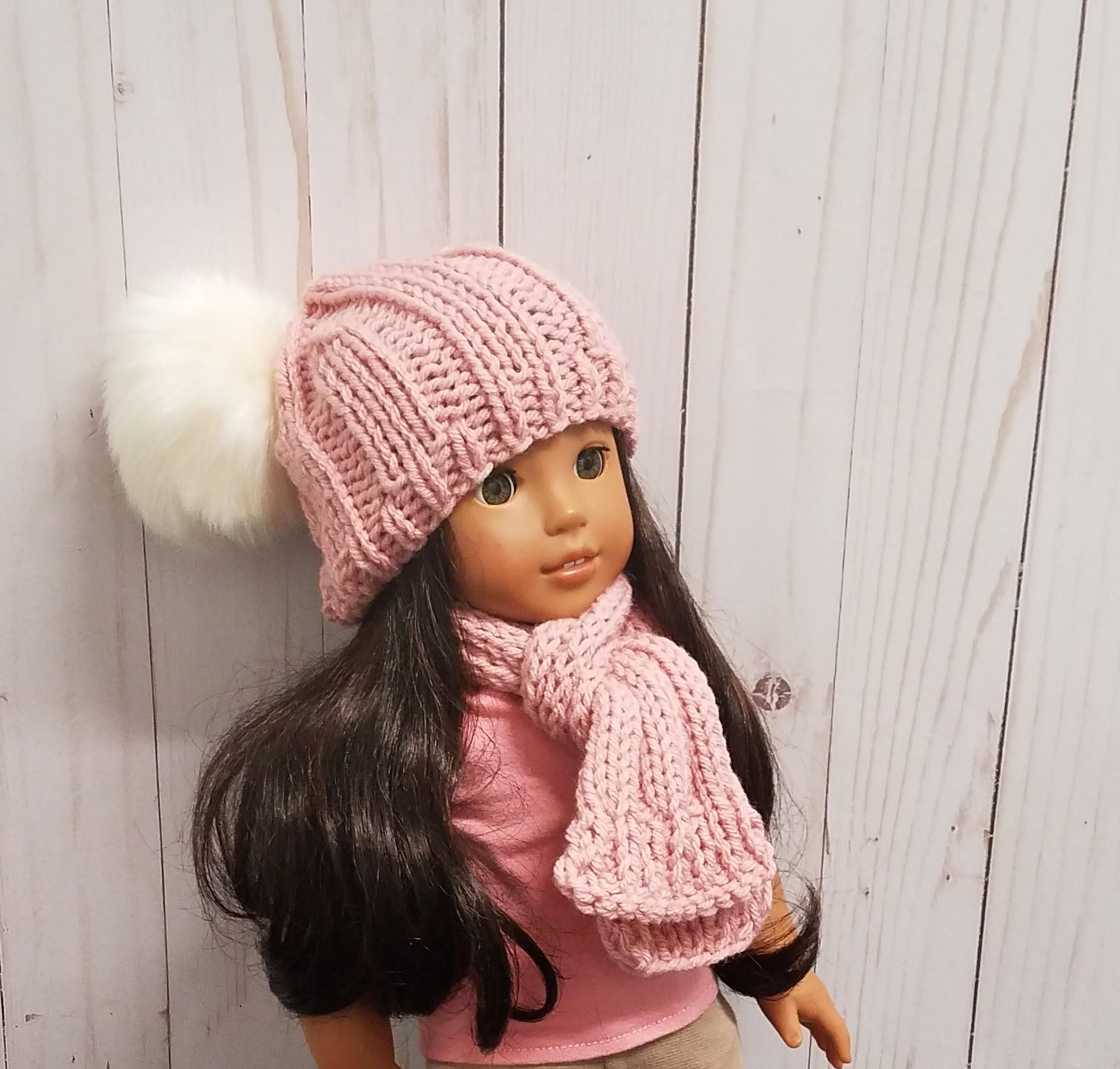 Matching American Girl Doll Hat   Dolly and Me Matching Hats   American Girl Doll Hats