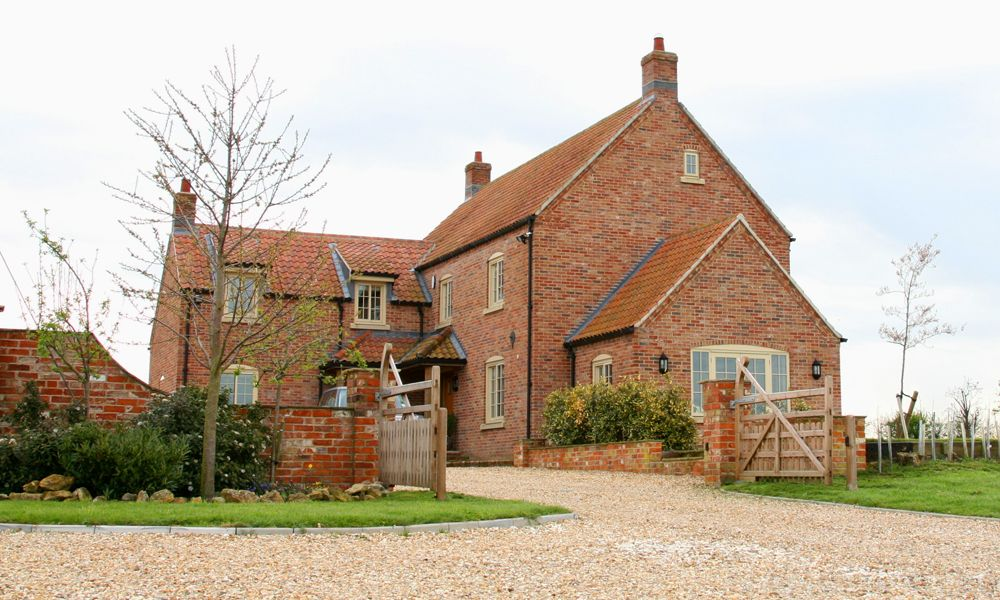 Farmhouse Country House Design Brick House Designs Country Living House Plans