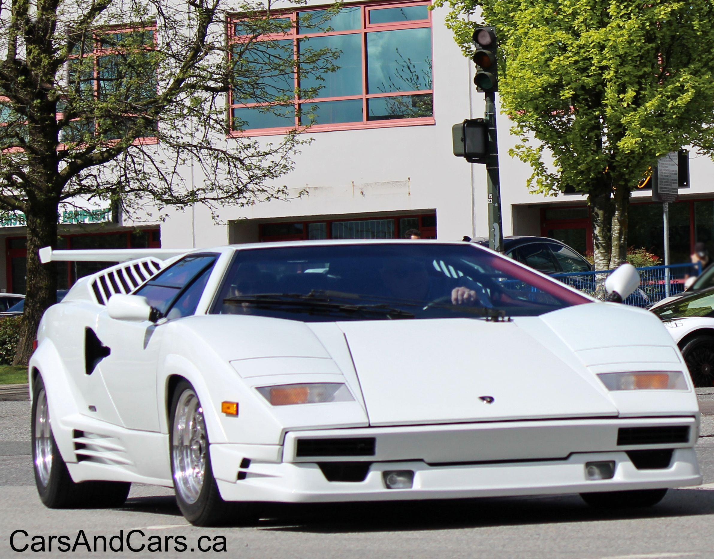 Timeless Classic Lamborghini Countach Sportcar Supercar Canada