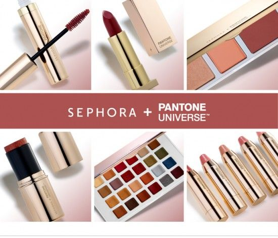 Sephora + Pantone Universe 2015 Color of the Year Collection