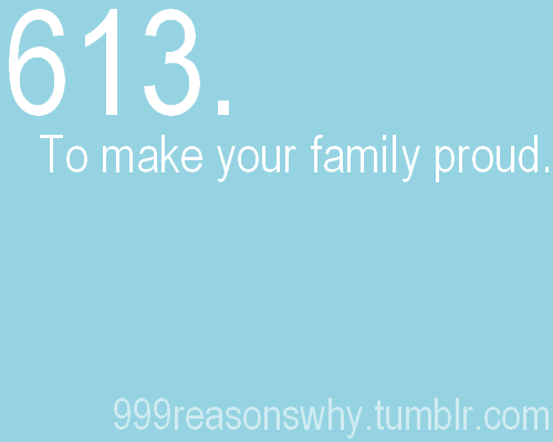 To make my family proud... | Loose weight motivation ...