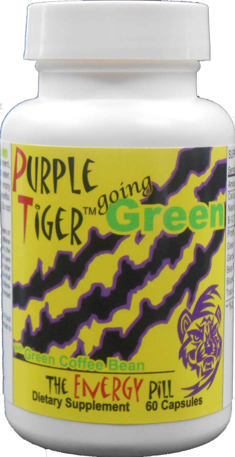 Purple Tiger Going Green Green coffee bean extract