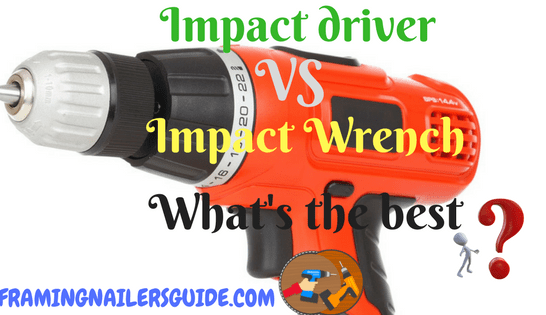 Impact Driver Vs Wrench What S The Best Difference Between And Functions