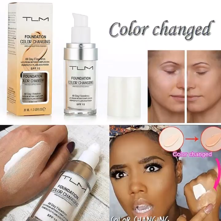 Tlm Colour Changing Foundation Spf 15 30Ml &Ndash; Acchic - Hair Beauty