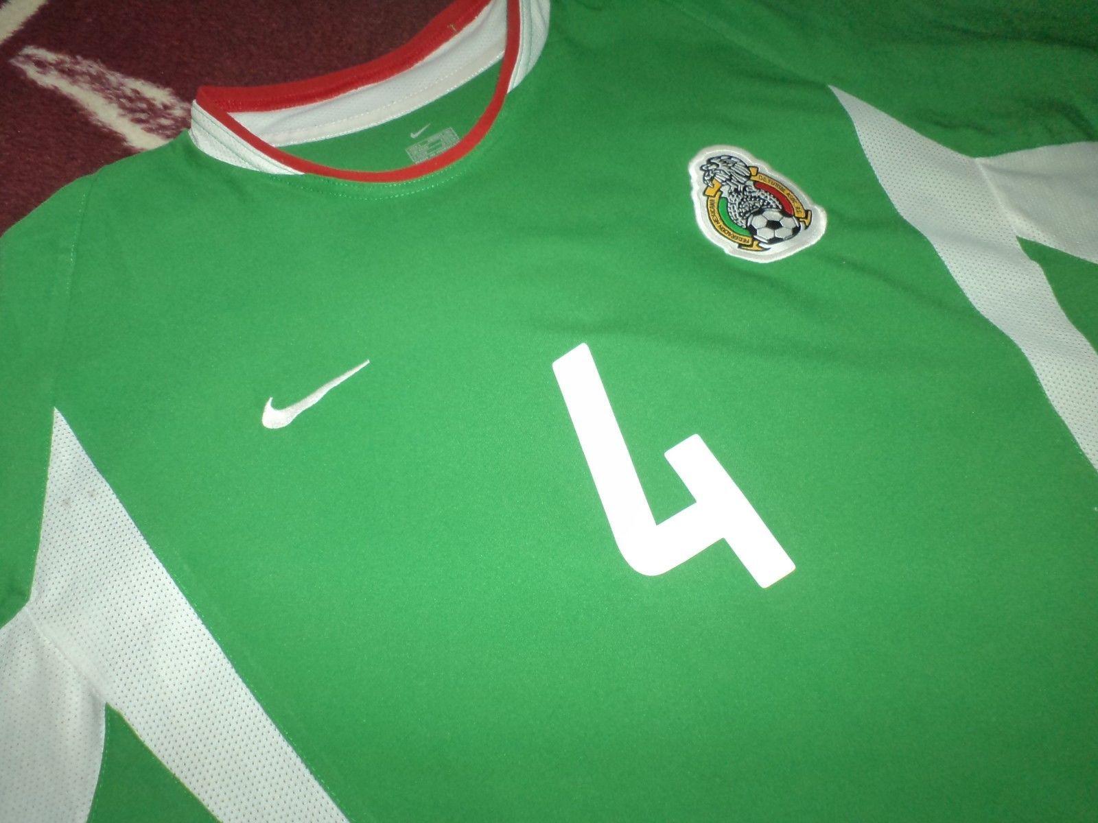 be4a016c2 Jersey mexico rafael marquez seleccion mexicana 2002 nike rare vintage shirt  (eBay Link)