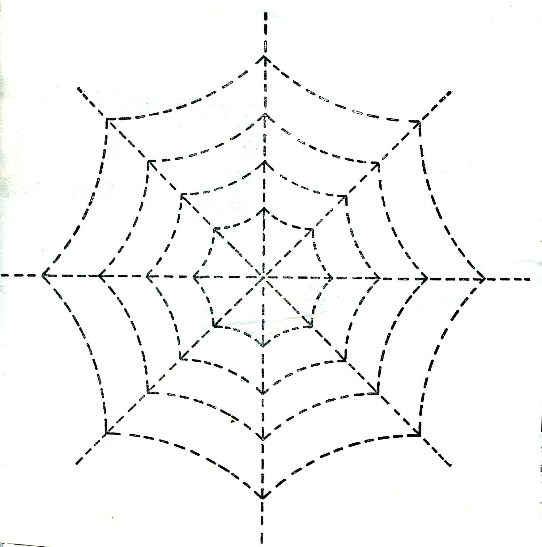 Quilt Pattern Spider Web
