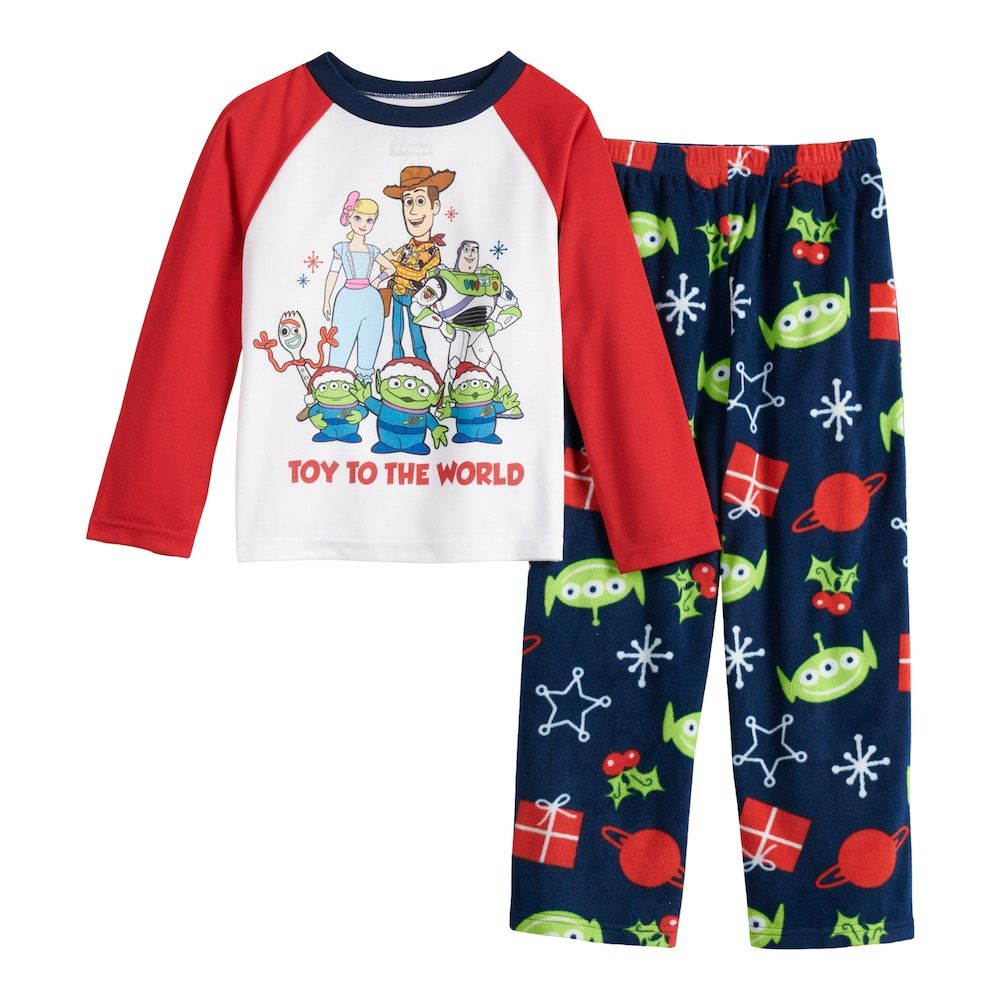 Disney Pixar Toy Story Boys Fleece Hoodie /& Pants Set
