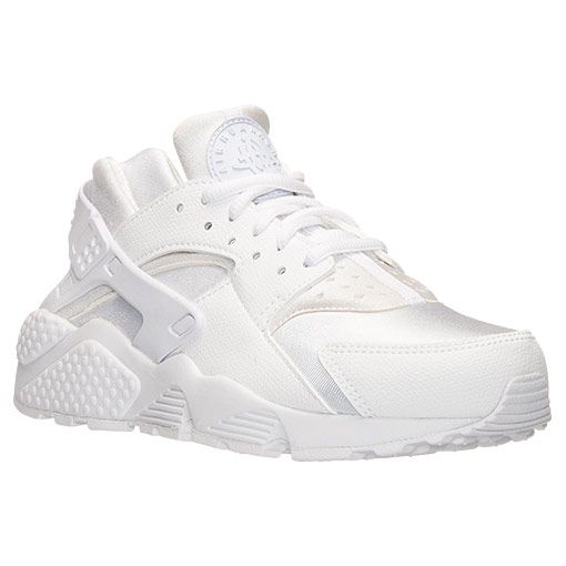Finish Line. White Leather ShoesNike ...