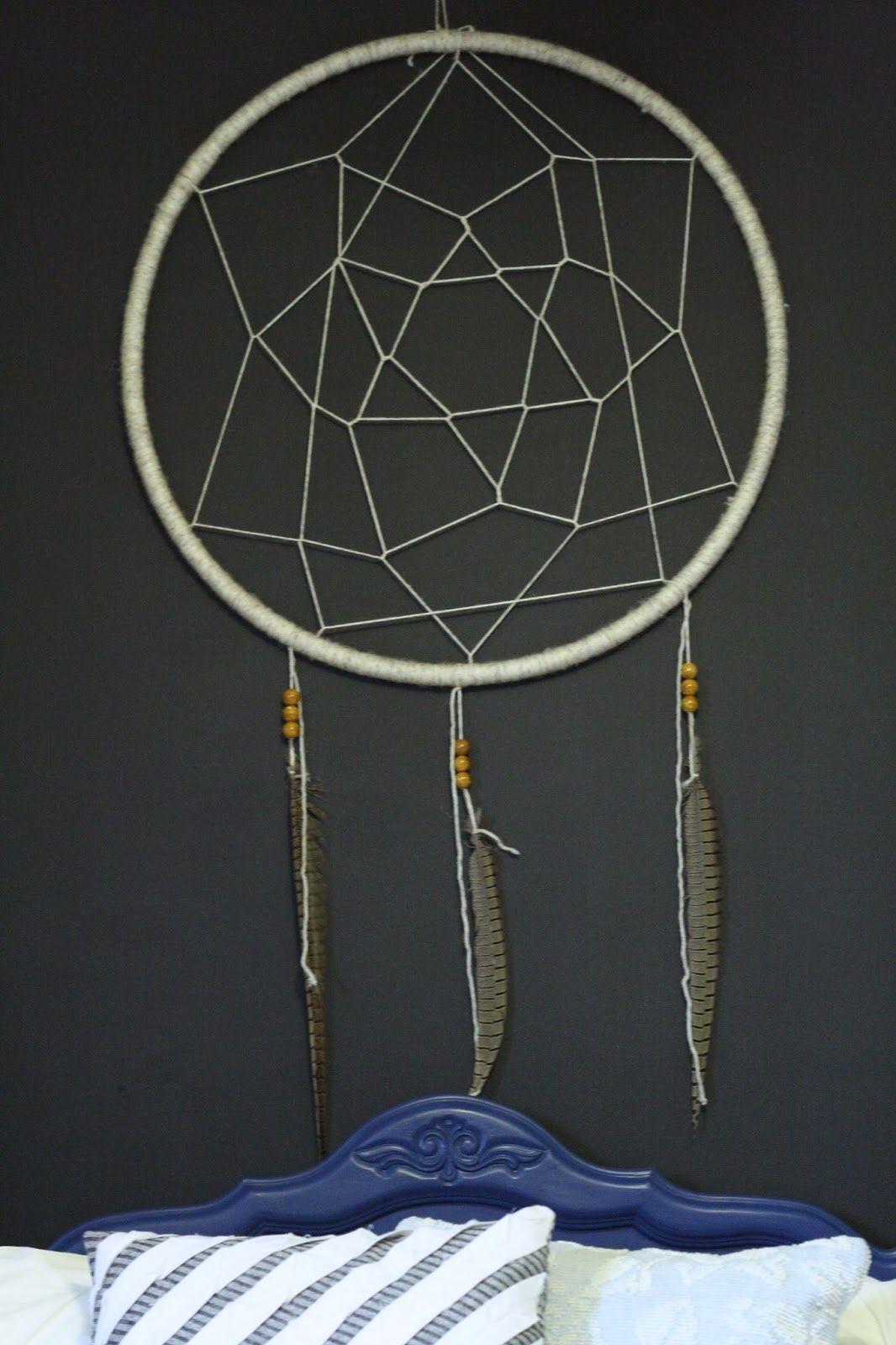 DIY Hula Hoop Dream Catcher Hoop dreams, Big dream