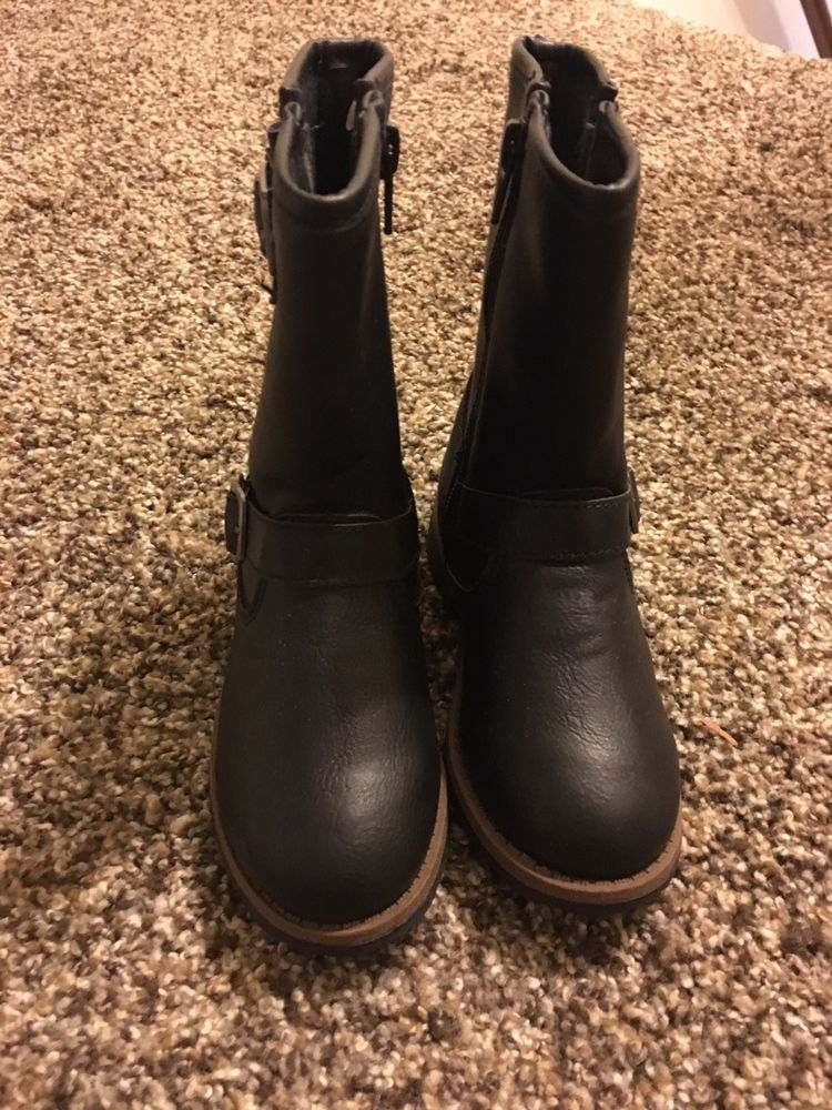a861c348a19b Toddler Girls Carters Riding Boots In Black Size 10  fashion  clothing   shoes  accessories  babytoddlerclothing  babyshoes (ebay link)