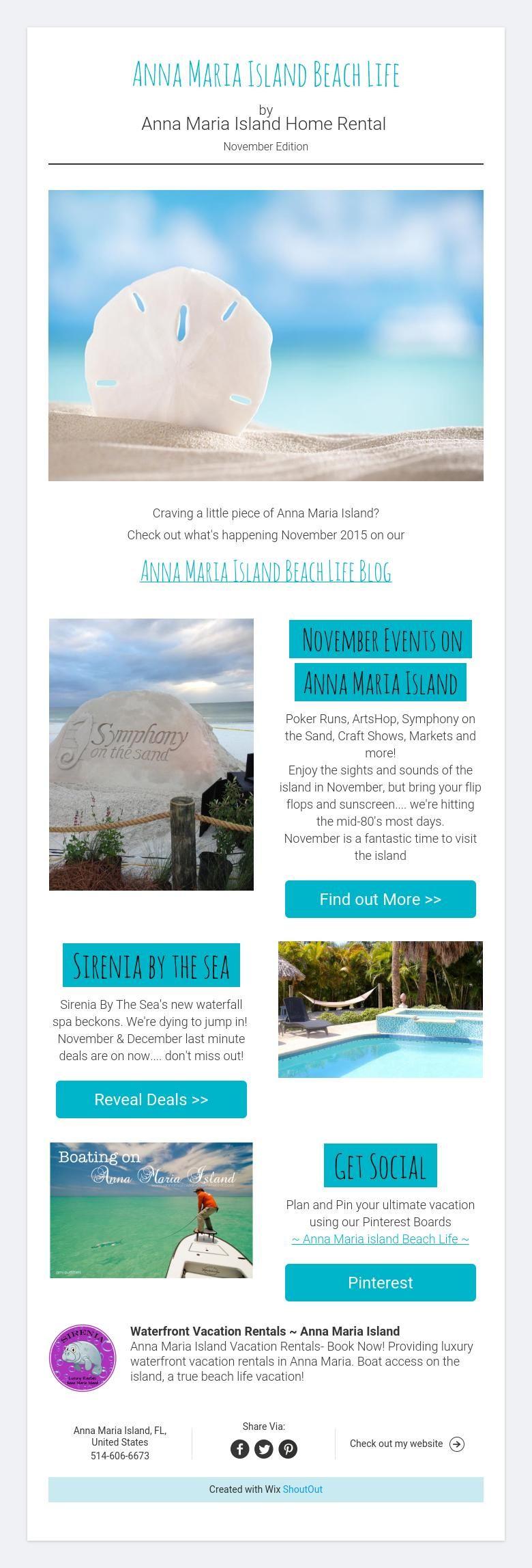 My Beach Rental Us - Anna maria island beach life by anna maria island home rental november blog edition