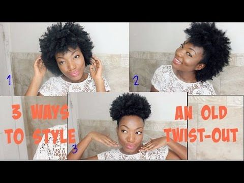 4 Ways To Style An Old Twist Out Black Girl With Long Hair Hair