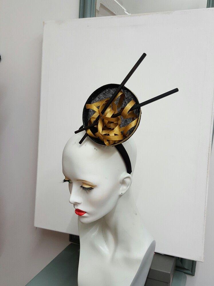 Noodle and chopstick fascinator